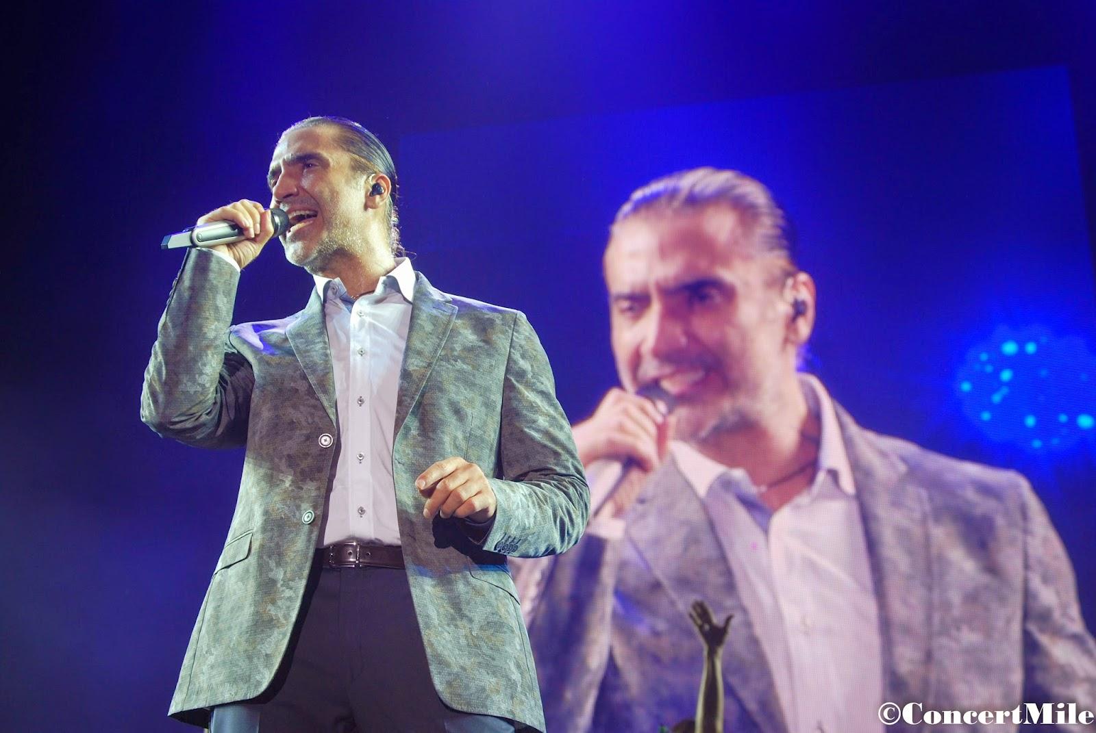 Crónica ALEJANDRO FERNÁNDEZ en concierto 26 de Julio en Los Alcázares