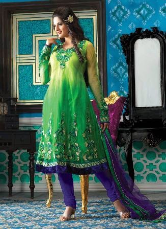 Modern Anarkali Dress in India