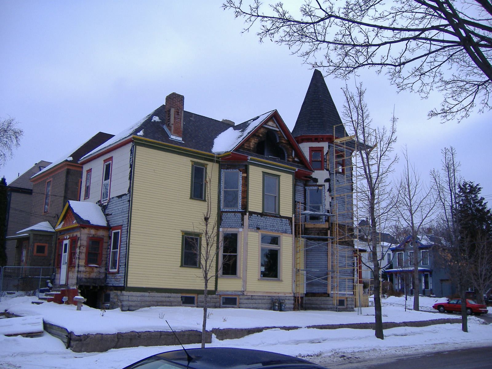 House Painting 1889 Victorian House Restoration