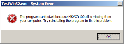 msvcr100.dll Download