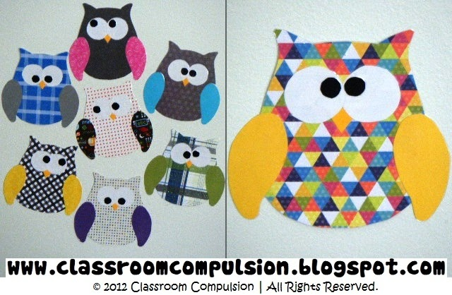 Classroom Bulletin Board Ideas With Owls ~ Classroom compulsion owls everywhere