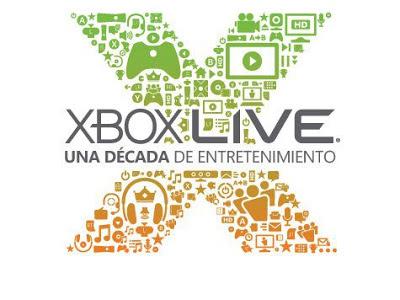 Xbox Live cumple 10 años.