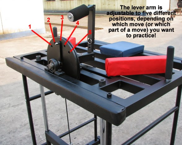 armwrestling machine