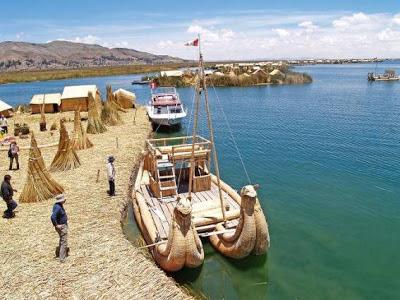 El Lago Titicaca - Perú y Bolivia