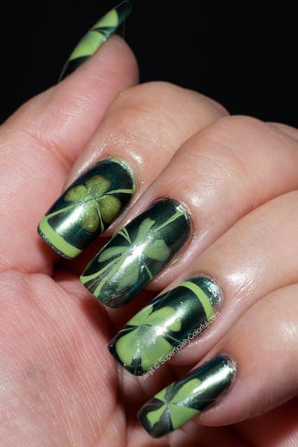 Water Marble Orly Green Apple Ga-De Green Sapphire