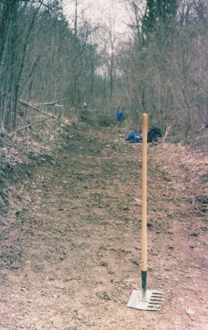 McCleod on trail