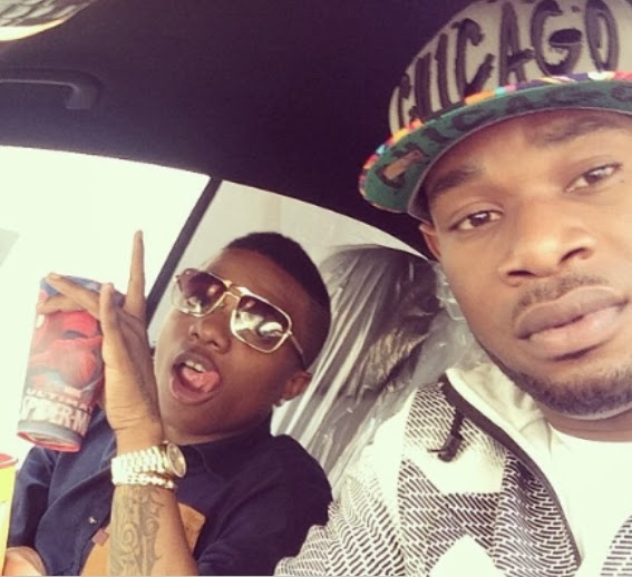 wizkid dprince car ride