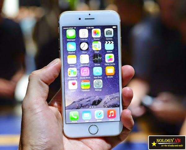 Hình ảnh chiếc Iphone 6 lock