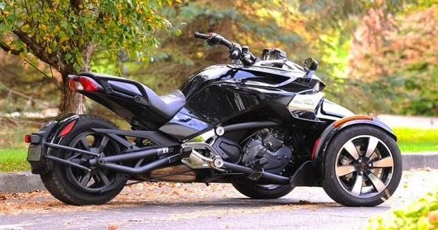 car reviews new car pictures for 2018 2019 2015 can am spyder f3 not a trike not a bike. Black Bedroom Furniture Sets. Home Design Ideas