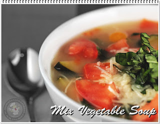 Resep Cara Membuat Mix Vegetable Soup Sederhana Rasa Mantap