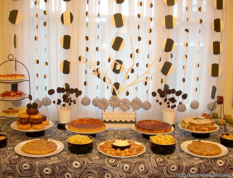 Decoracion de mesas: Mesa Cumpleaños tipo buffet