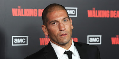 actor Jon Bernthal press event Walking Dead red carpet