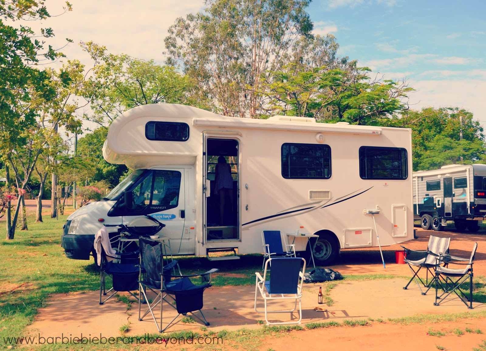 RV Campervan Holiday Charleville to Longreach