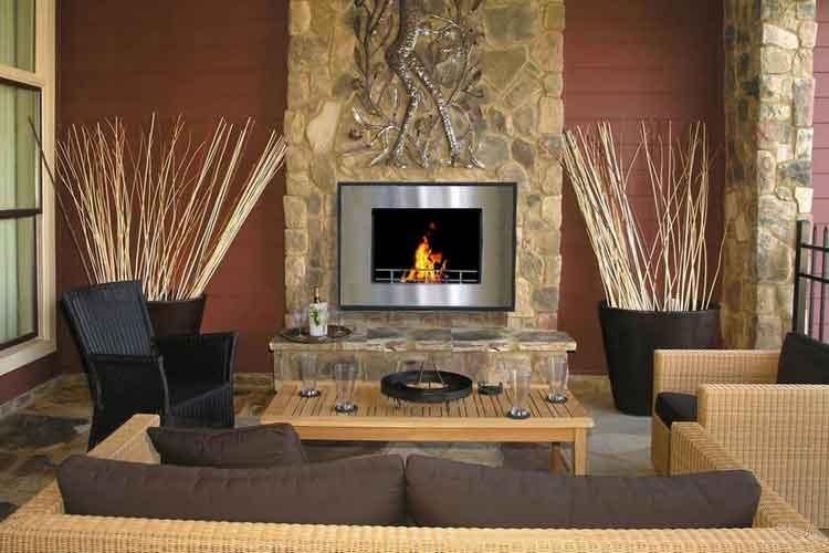 Fotos de diferentes tipos de chimeneas proyectos de casas for Chimeneas en apartamentos pequenos