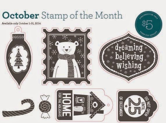 Close to My Heart October Stamp of the Month