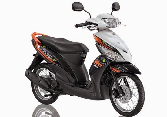Yamaha Mio J FI White
