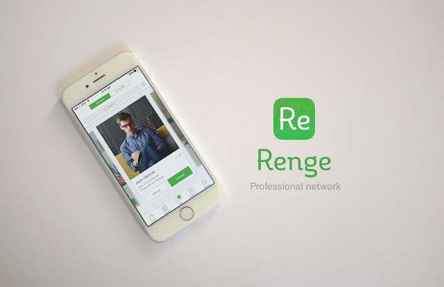 Renge free  psd mobile app ui