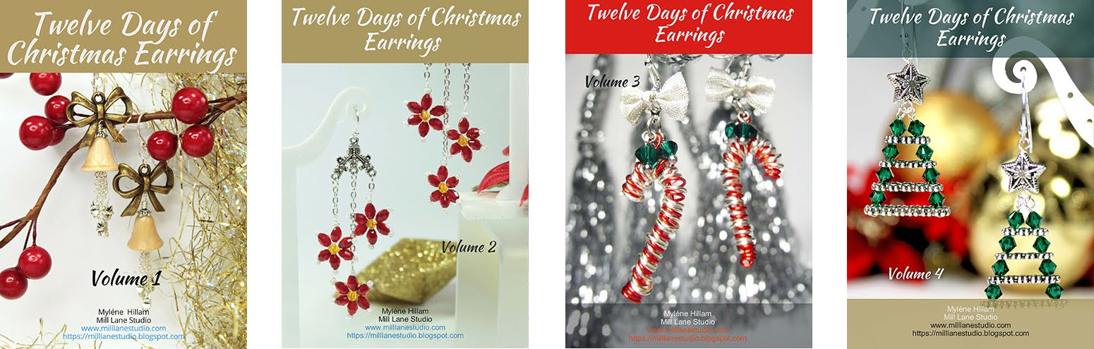Purchase your copy of the Twelve Days of Christmas Earrings ebook. Volumes 1 - 4 available now.