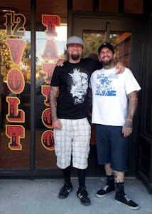 Zac And Juan at 12 Volt Tattoo