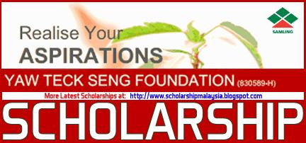 Yaw Teck Seng Foundation (Samling) Scholarship