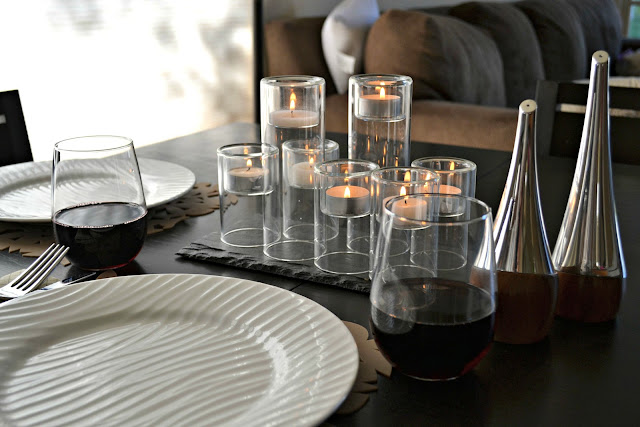 Mommy Testers date night at home table settings  #dinnerin15 #cbias