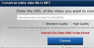 Cara Convert Video menjadi MP3
