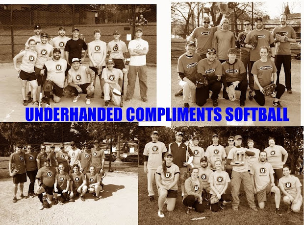 Underhanded Compliments Softball