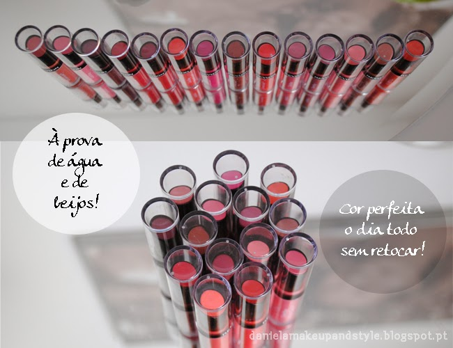 daniela pires, review, revlon colorstay, ultimate suede, lipstick, swatches