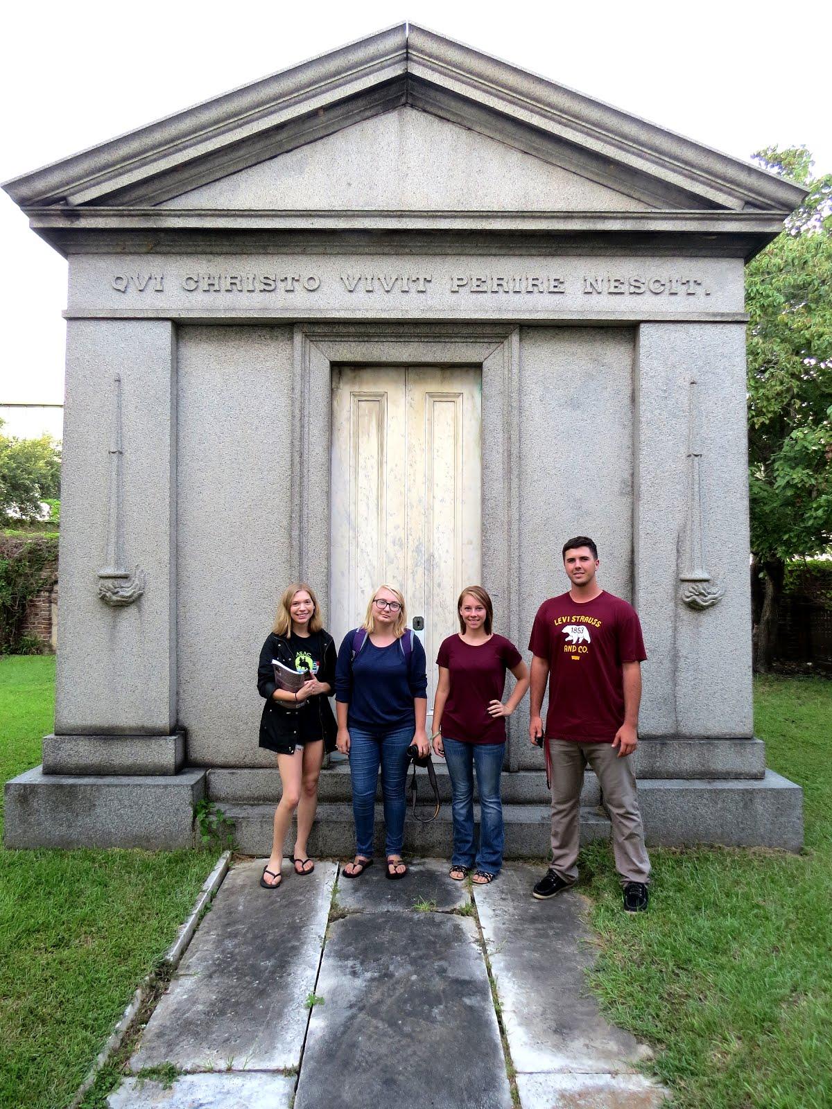 St. Luke Graveyard Visit