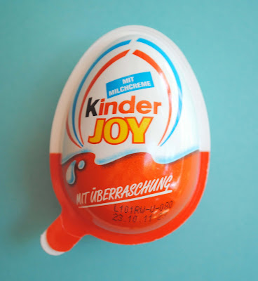 Jumping for kinder joy