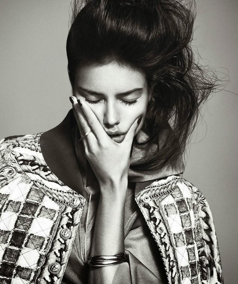 Adirana Lima By Nico For Harper's Bazaar Spain February 2014