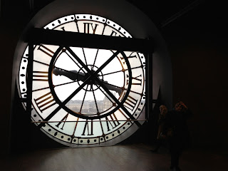 Clock at D'Orsay Museum, Paris