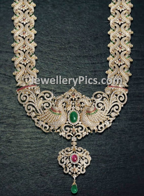 broad diamond long chain