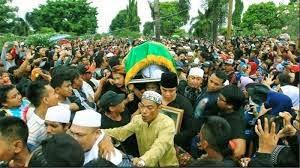 pemakaman olga syahputra