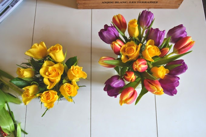 centro de flores facil rapido y economico