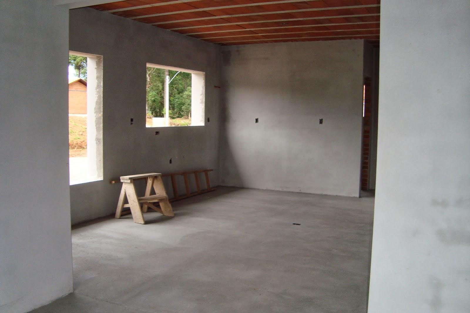 Casa da Claudia: Atualizando a Obra Reboco Parte Interna Finalizado #8B6E40 1600x1066 Banheiro Com Janela Interna