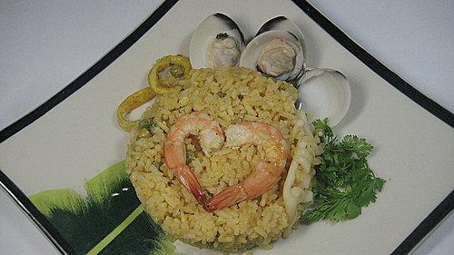 Paella - Cơm hải sản Tây ban nha