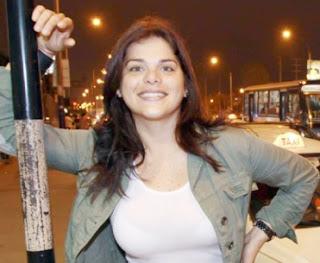Giovanna Valcárcel esa una chica super alegre, extrovertida y divertida