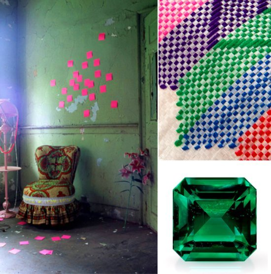 Safari Fusion blog | Emerald: Pantone colour of 2013 | The African gem and nature is the colour inspiration for interiors in 2013