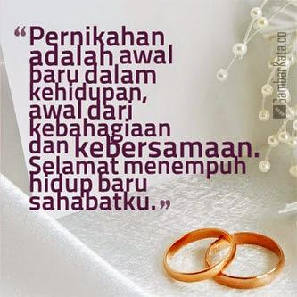Kata Kata Ucapan Pernikahan