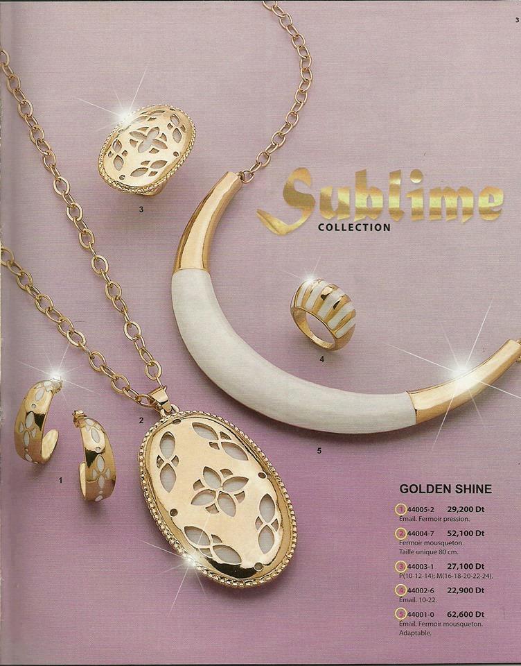 Cristian Lay Tunisie vous propose une collection de bijoux en Plaqué Or et Plaqué Argent pour lété 2013, une collection qui satisfait tout les goûts