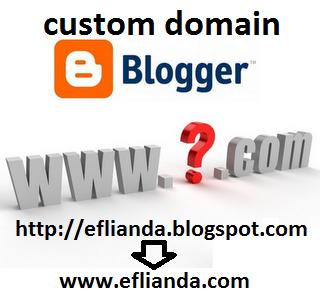 cara merubah domain blogspot dengan domain TLD sendiri (Custom Domain) 1