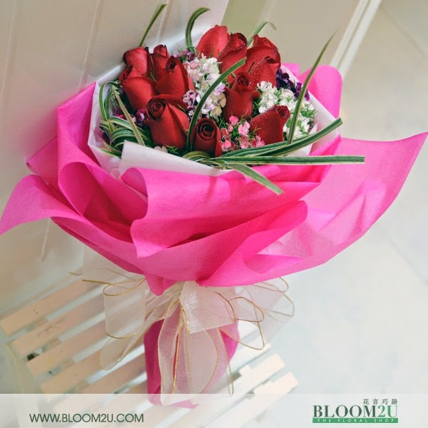 Beautiful Romance flowers delivery in Malaysia