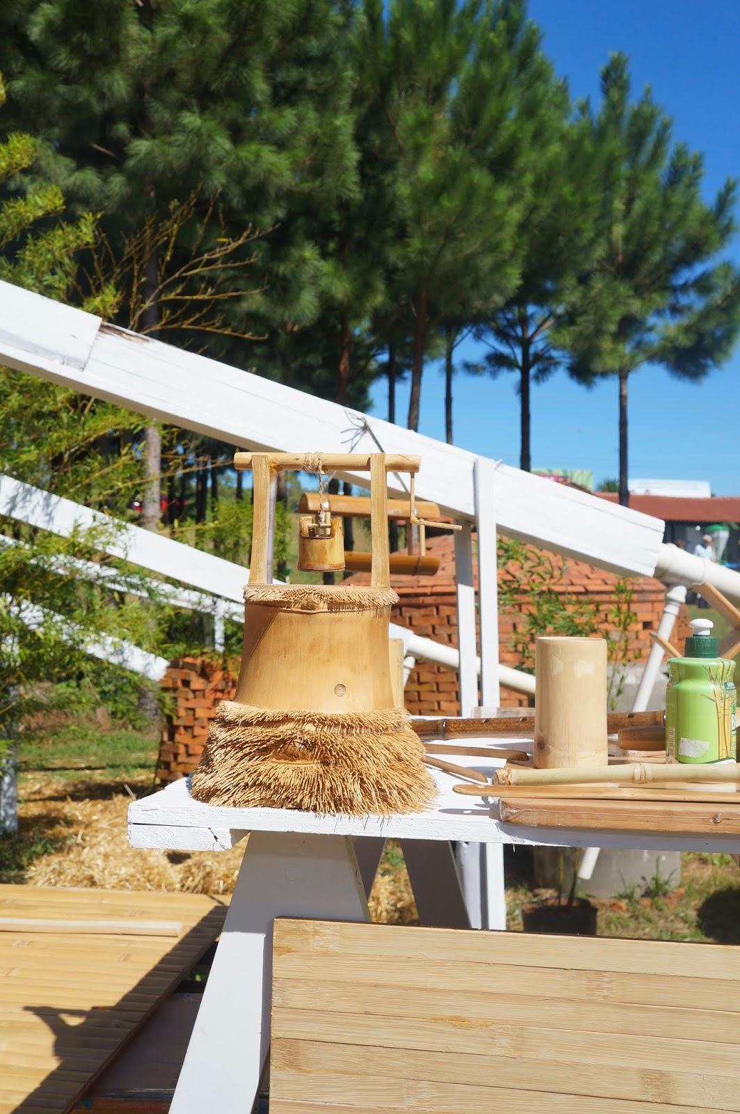Artigos de bambu