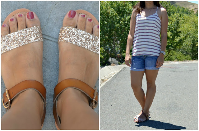Summer Shoe Options Target Glitter Sandals