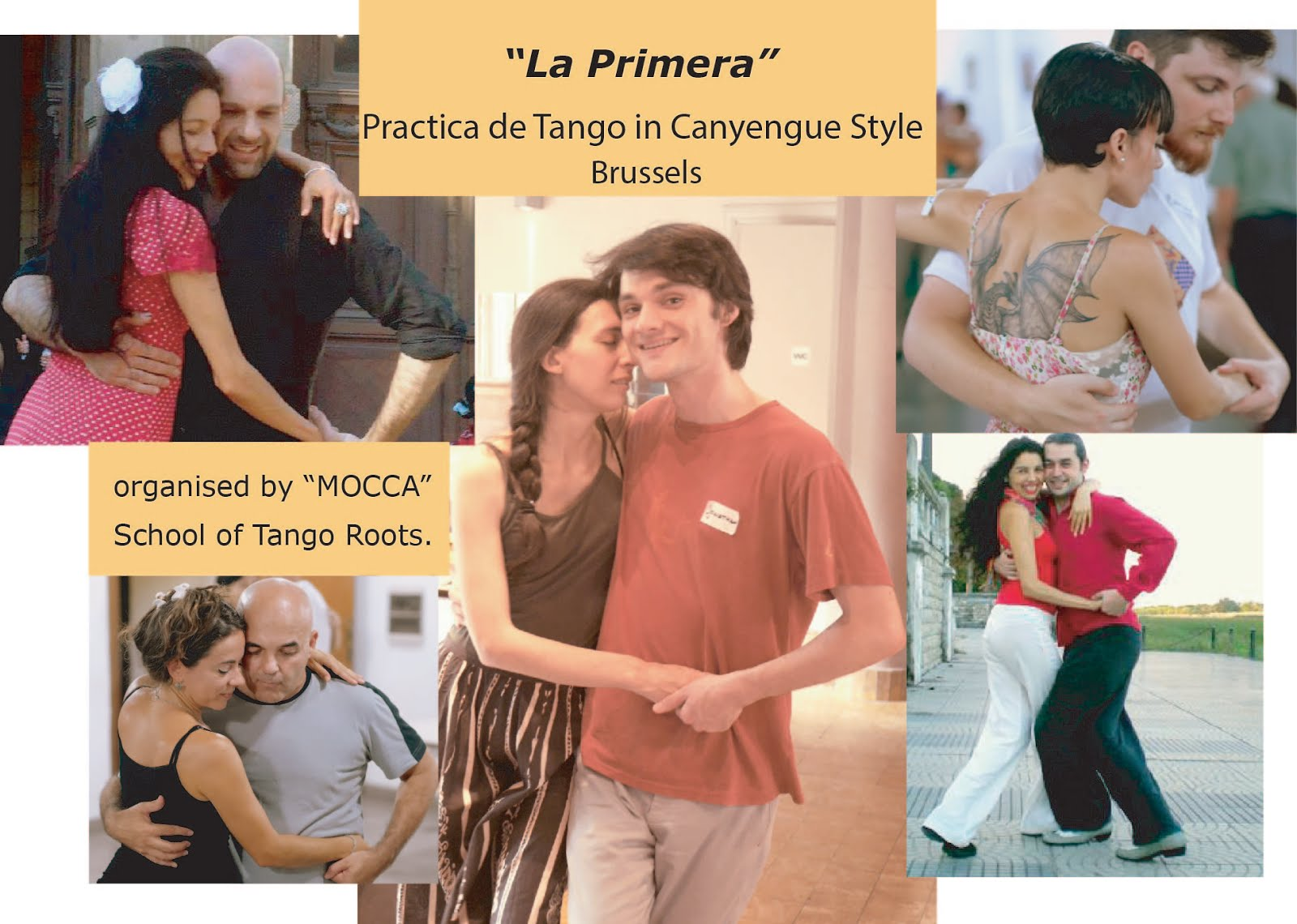 workshop & Practica of Tango in Canyengue Style