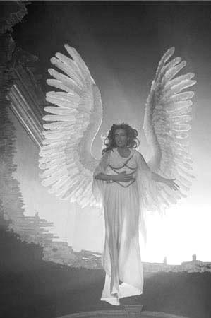 Emma Thompson as The Angel America in Angels in America