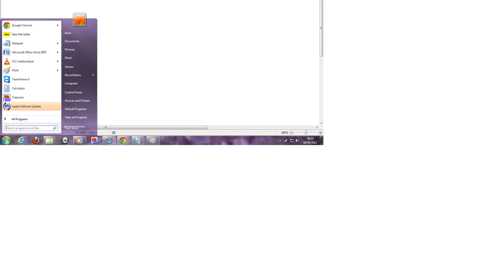 how to get run on windows 8