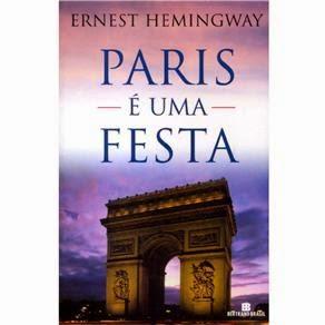 """livro """"Paris é uma festa"""""""