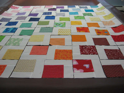 Rainbow Quilt ~ A Picture Tutorial